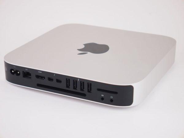 Mac Mini rear view