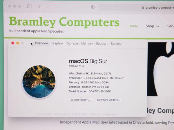 "Apple iMac 21"" 4k 2017"